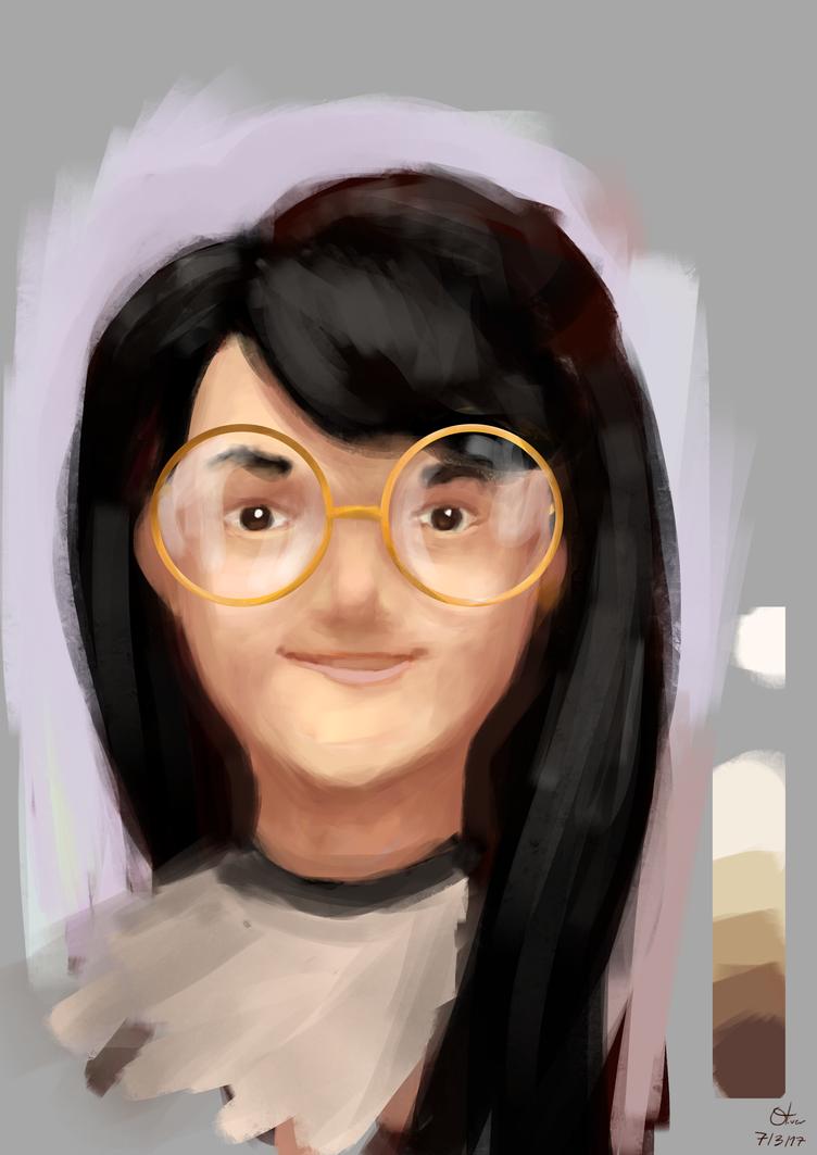 Girl Portrait by ollieestuff