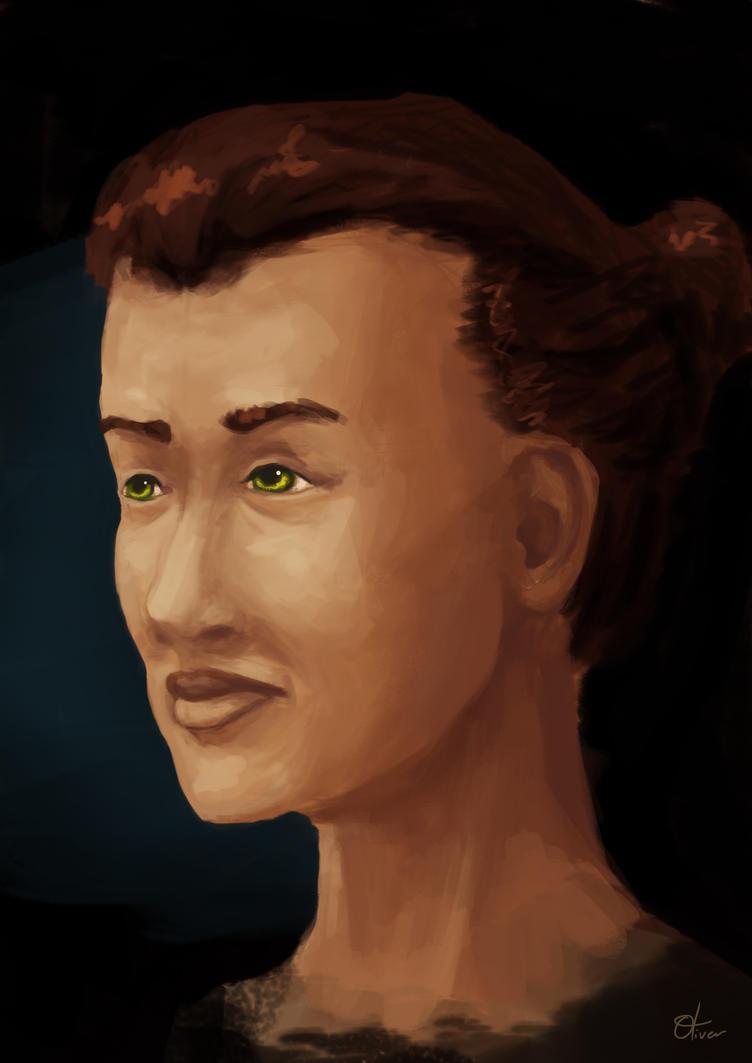 Woman Portrait Study by ollieestuff