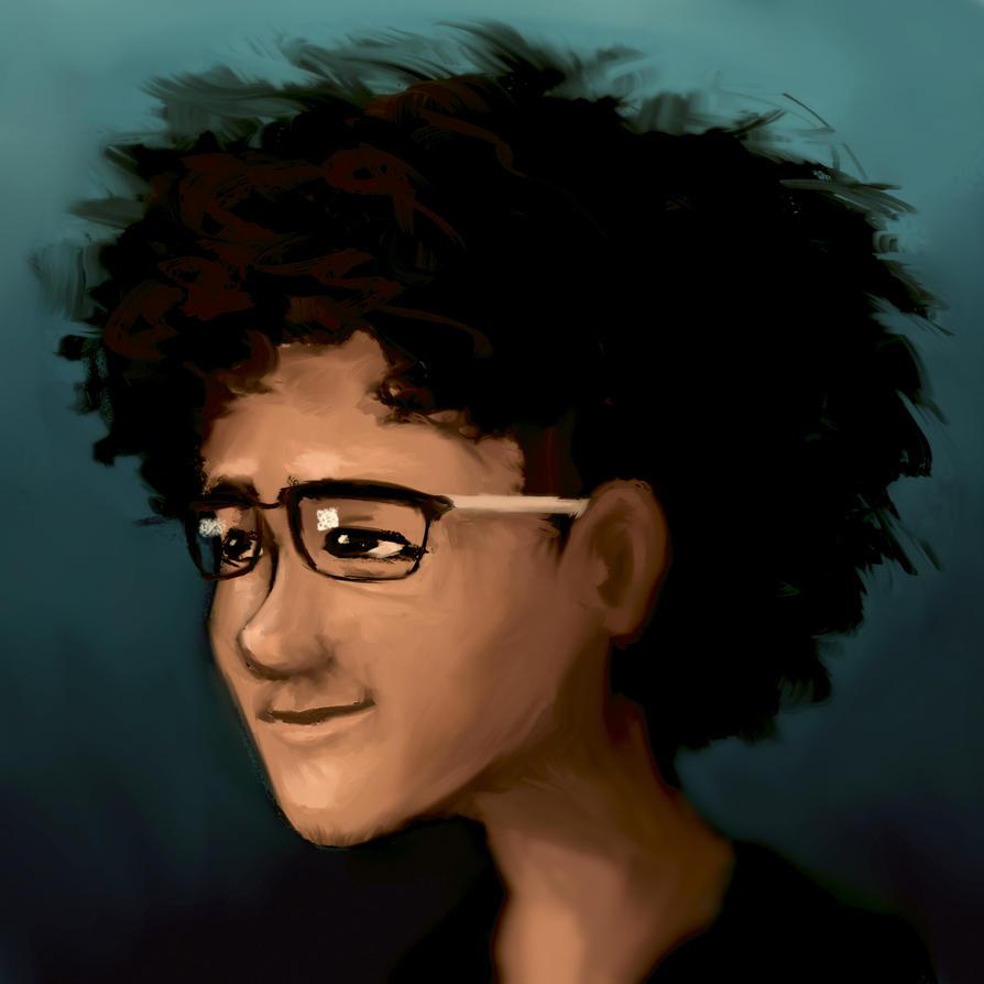 Self Portrait by ollieestuff