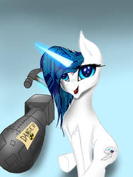 Super Smart Engineer Horse by TechWingIdustries