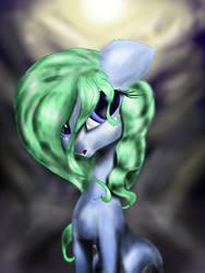 Moonlight Emerald (Request) by TechWingIdustries