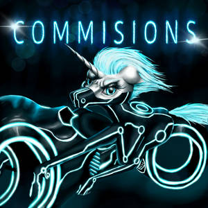 Commission TRON pony