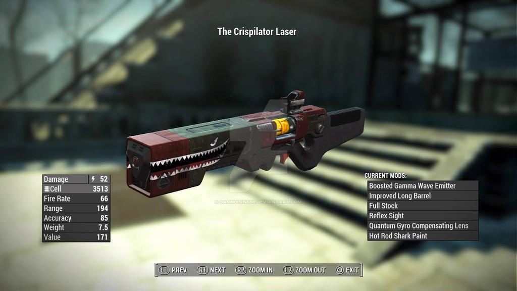 The Crispliator Laser (Insynerate ver) by SammySin666