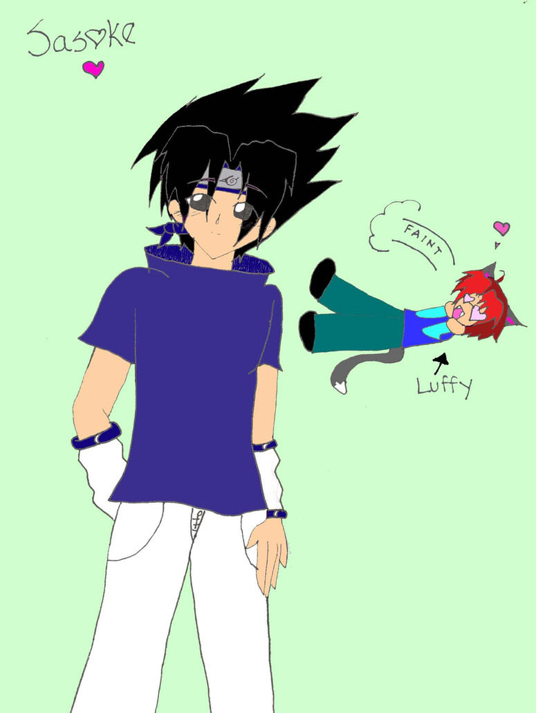 Sasuke The Hottie by Luffy-Kun