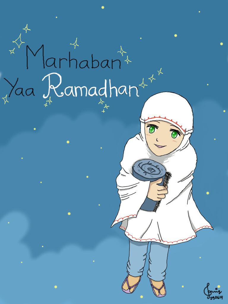 Marhaban Yaa Ramadhan.. :) by nizakicantabile
