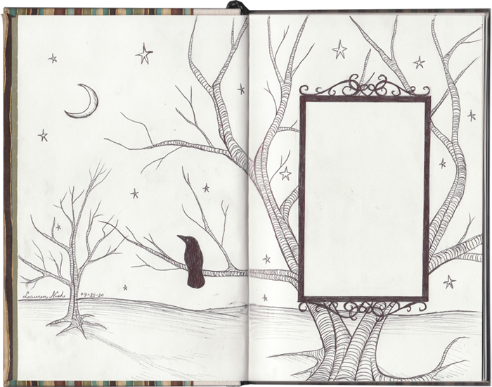 Sketchbook Title Page By Transientart On Deviantart