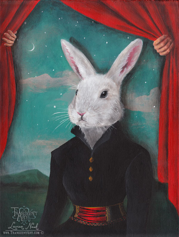 Rabbit at Theater by TransientArt