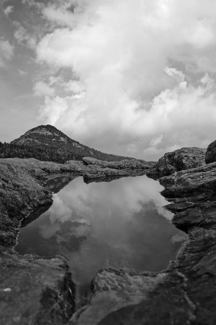 Grandfather Mtn Reflected 2