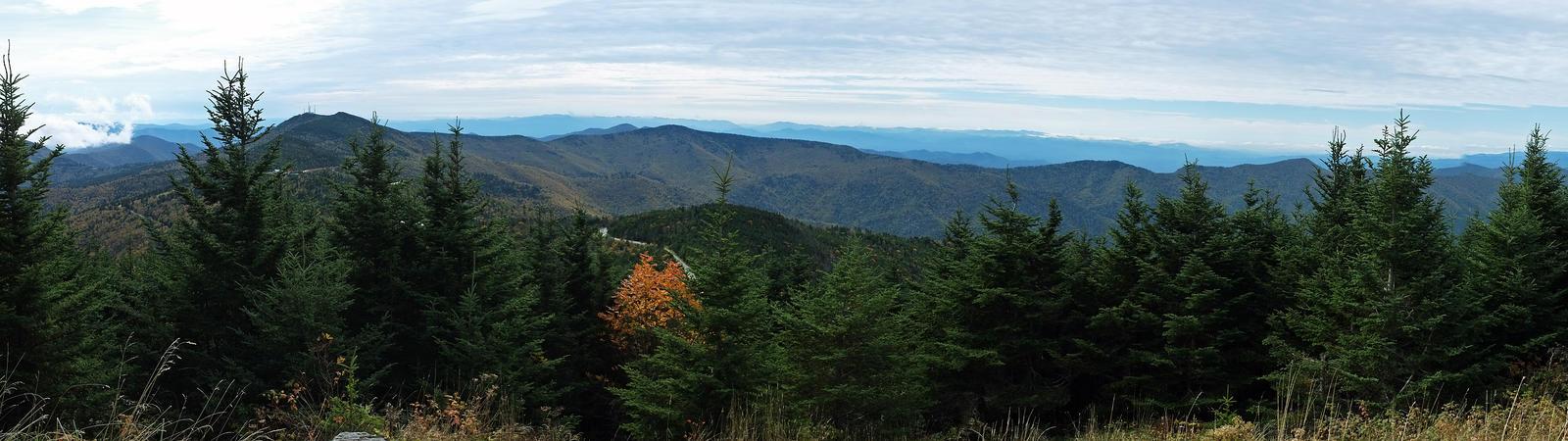 Mt. Mitchell Summit Panorama 1