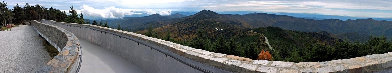 Mt. Mitchell Summit Panorama 3