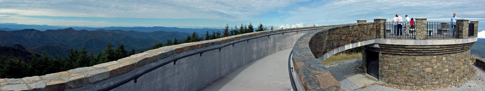 Mt. Mitchell Summit Panorama 4