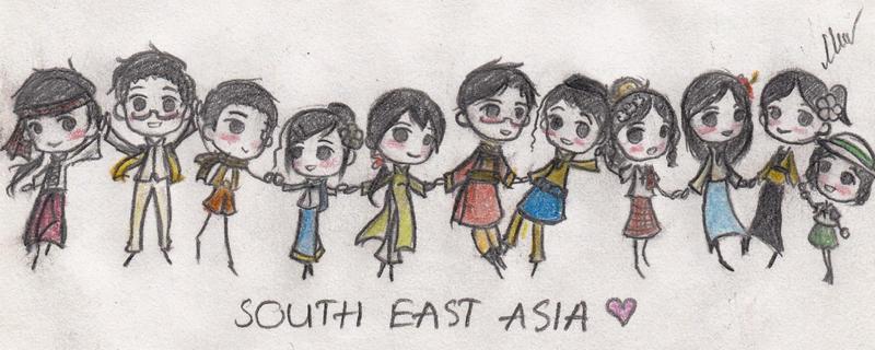 [APH_ASEAN]Chibi,chibi,chibi~ ^v^ by vn4eyedgirl