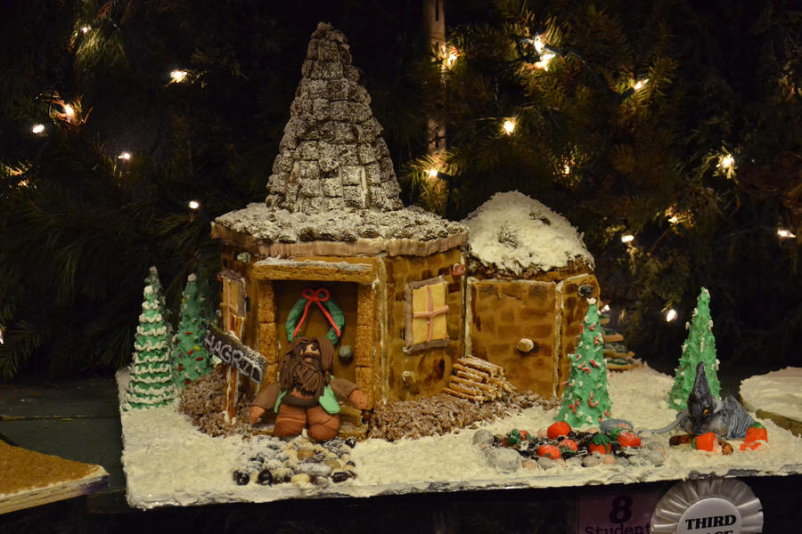 Hagrid 39 s gingerbread hut by xpercy l0ve on deviantart What house was hagrid in