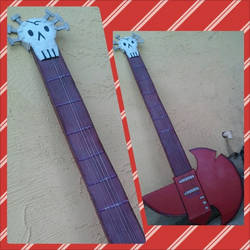 Marshall Lee Axe Guitar by SexualHarasmentPanda