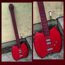Marceline Axe Bass by SexualHarasmentPanda