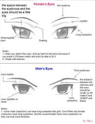 Anime Eyes Tips by Tifa1993