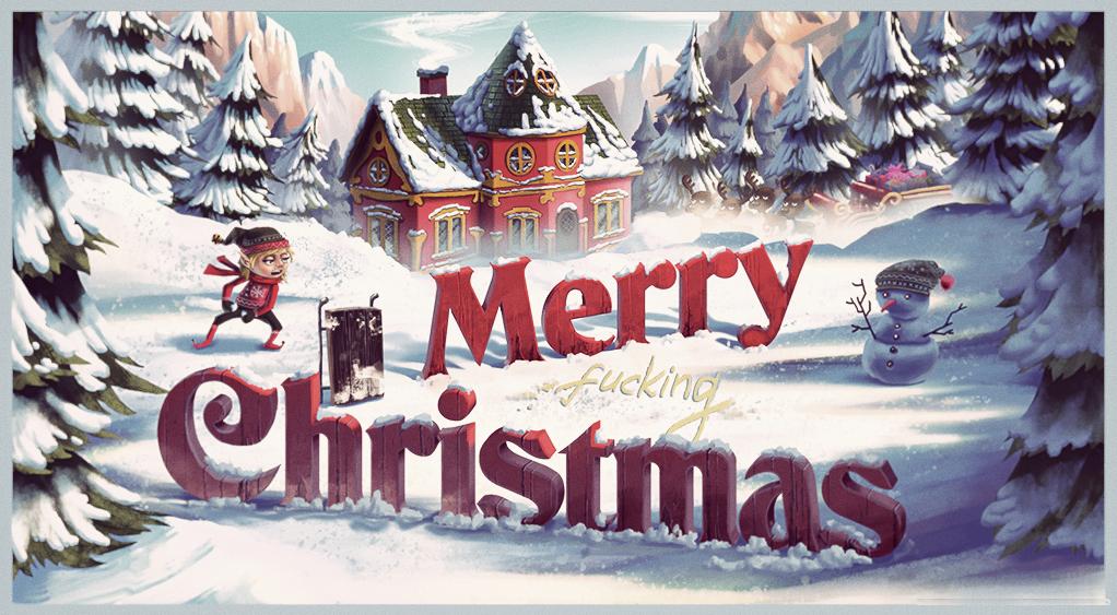 Christmas card by nennnnnn