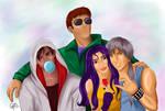 Fashion Fantasy II: the rebels by Lynn-Strife