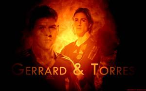 Gerrard and Torres by HelterSkelter33