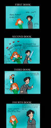 Six years of Harry and Ginny by Eva-Black