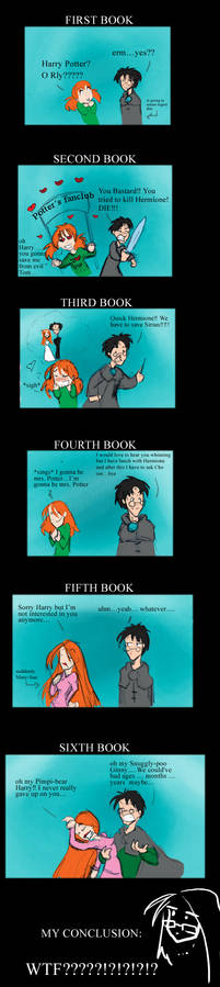 Six years of Harry and Ginny