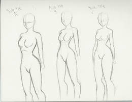 Body types by DCLzexon