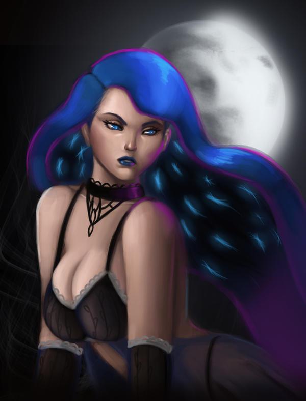 Luna@night by DCLzexon