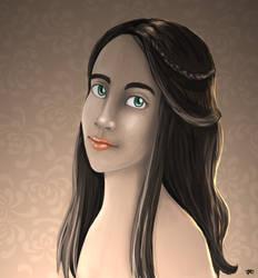 The Portrait by nekoyo