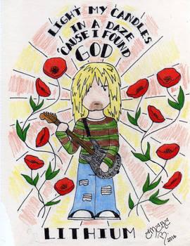 Kurt Cobain and Poppies