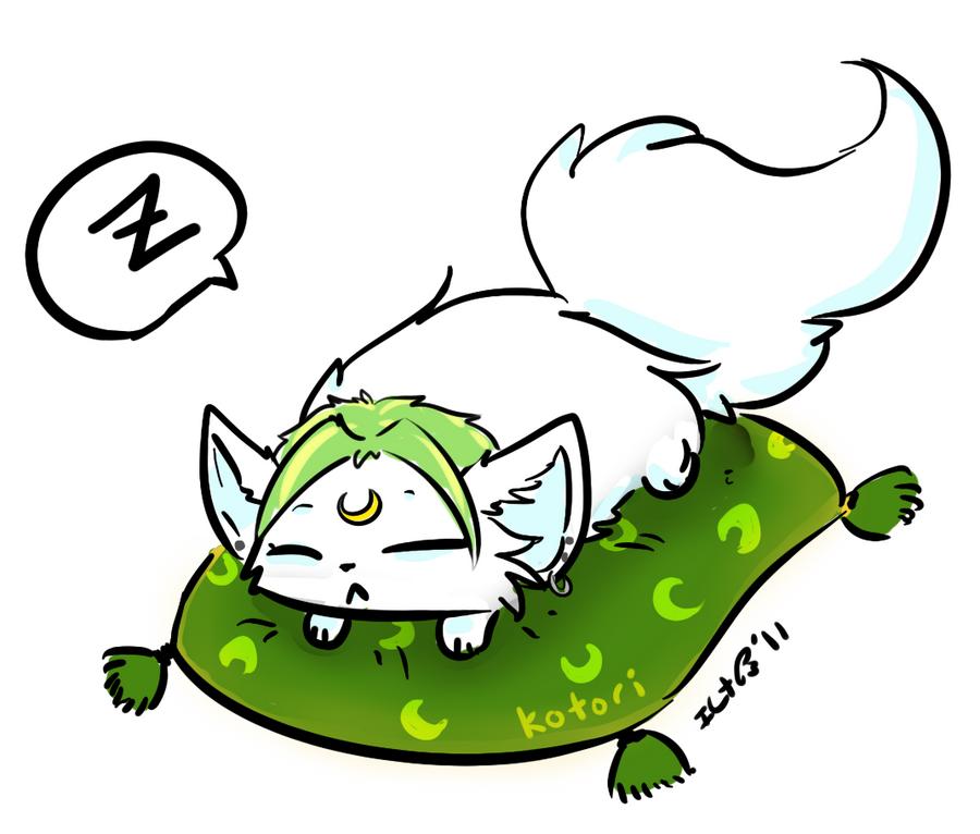 Sleepy Kitty by Neko-Kotori