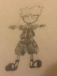 Sora T-Pose by Tetrispriter