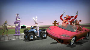 foxy try to get the driving license