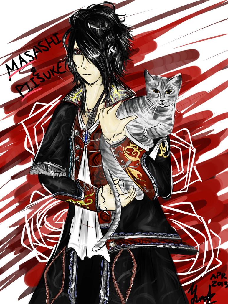 Masashi And Piisuke by ivanka-a