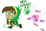 The Fairly Odd Legend of Zelda by BThomas64