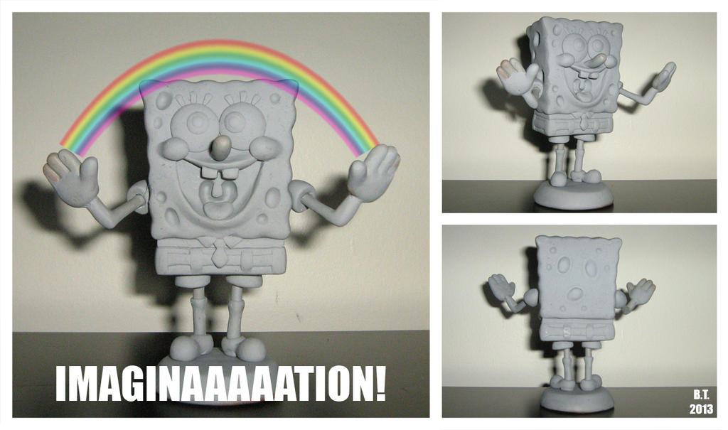 Spongebob Scupture by BThomas64