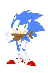 'Sonic Boom' Sonic by BThomas64