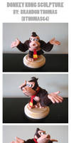 Donkey Kong Sculpture by BThomas64