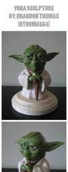 Yoda Sculpture by BThomas64