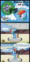 Rainbow Dash vs an F16