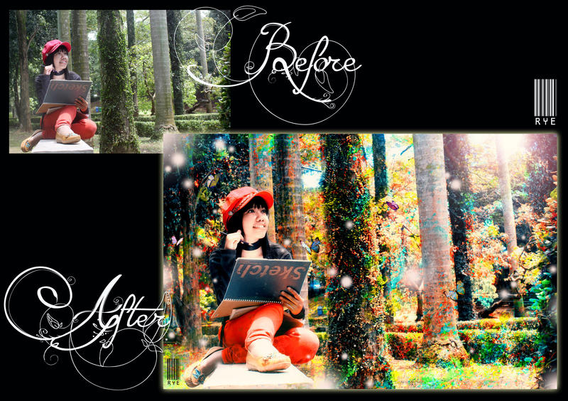 B.A ( Before - After ) Imaginator by RyeChan