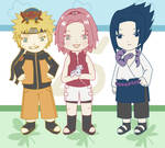 Team 7 Chibis