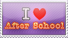 I Love After School Stamp by NileyJoyrus14