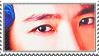 Donghae - Eyes Stamp by NileyJoyrus14