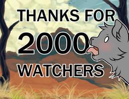 2000 Watchers + events by GoldenDragonART