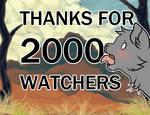 2000 Watchers + events