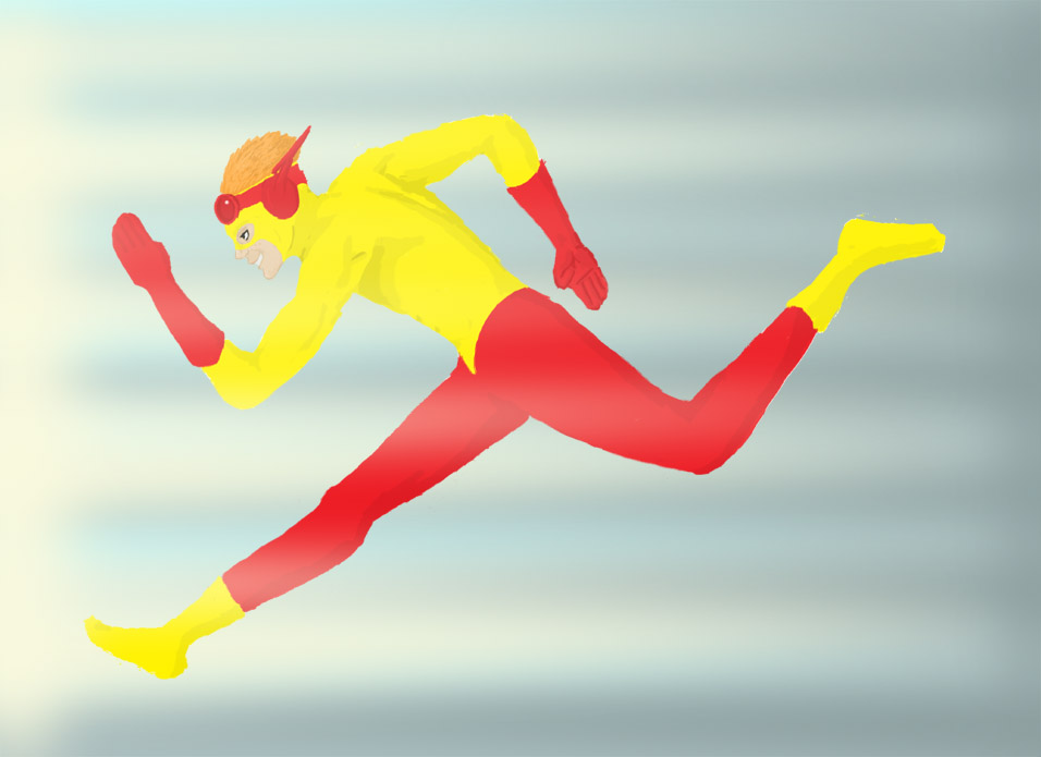 Kid Flash by Afreon