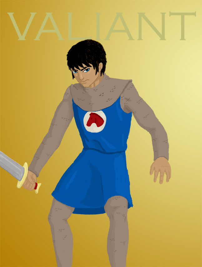 Prince Valiant Concept by Afreon