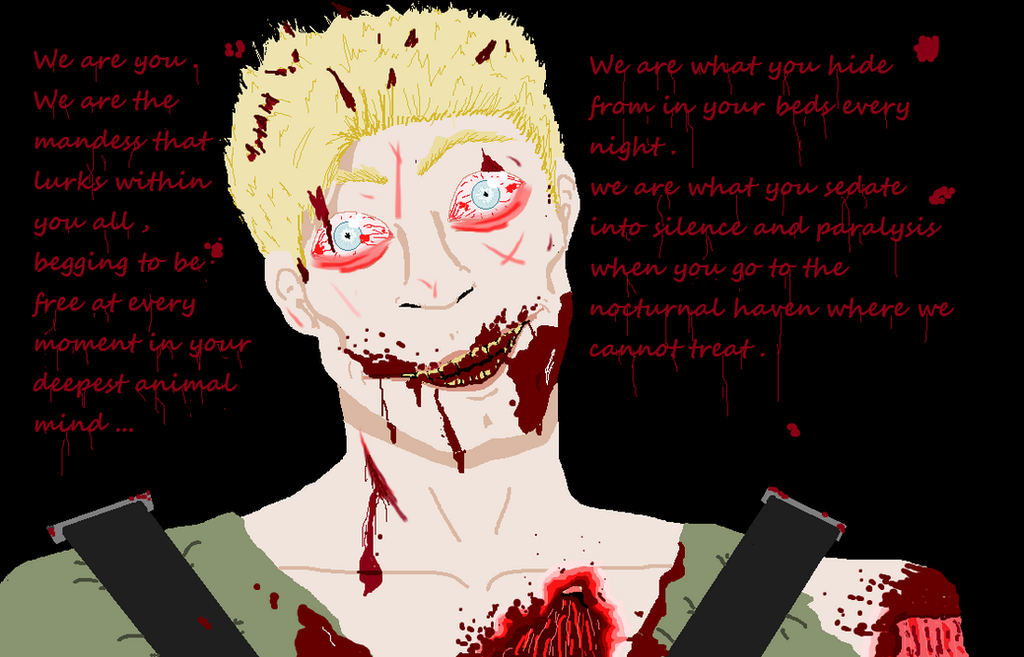 The russian sleep experiment   we are you ... by Scarygermangirl