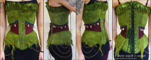 Forest witch's corset