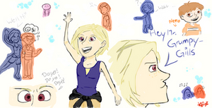 Finding Nemo human sketches